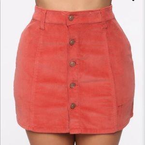 FashionNova skirt
